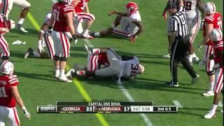 Rex Burkhead vs Georgia (2012 Bowl)