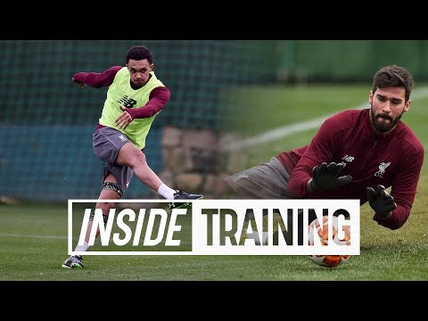 Video: Inside Training: 24 Goals and 8 top saves from Liverpool's Marbella training camp