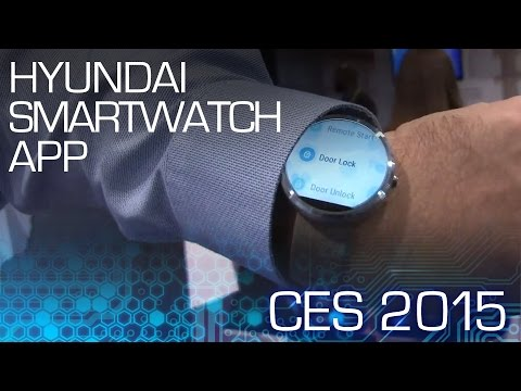 Control Your Hyundai Sonata from Your Wrist – CES 2015