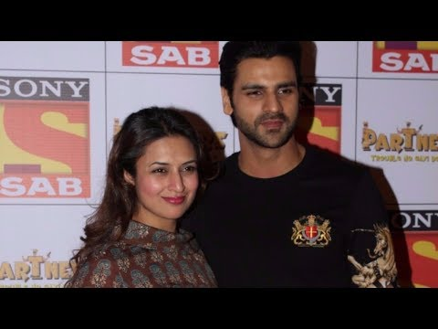 Divyanka Tripathi & Vivek Dahiya At The Red Carpet Of SAB TV New Show PARTNERS