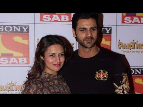 Divyanka Tripathi & Vivek Dahiya At The Red Carpet Of SAB TV New Show PARTNERS