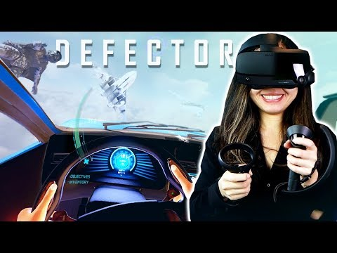 Defector Feels Like James Bond In VR, But Is It? (Oculus Rift S & Valve Index Gameplay)