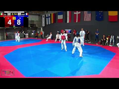 412  Ibao, Nicolas, FRA vs  Arlotta, Giovanni, ITA 13 9 (видео)