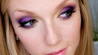 Purple & Yellow Halloween Makeup Tutorial