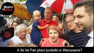 Jaki od 6 lat mieszka w Warszawie a dopiero od roku płaci tu podatki….