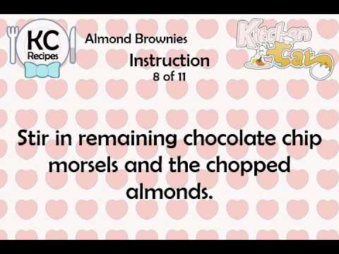 Almond Brownies – Kitchen Cat