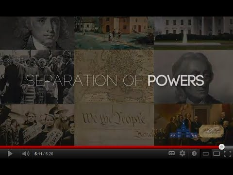 separation - Do you understand why separation of powers is important for protecting our freedom? This short, engaging video focuses on the constitutional principle of sep...
