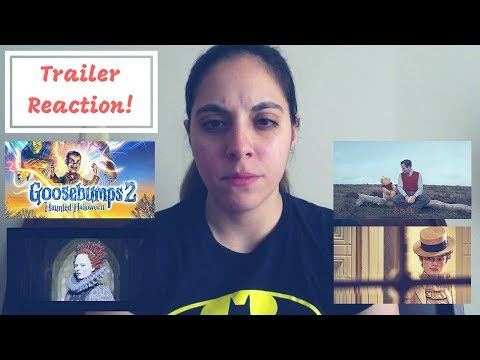 MARY QUEEN OF SCOTS + GOOSEBUMPS 2 + COLETTE + CHRISTOPHER ROBIN ADVENTURE TRAILER REACTION!