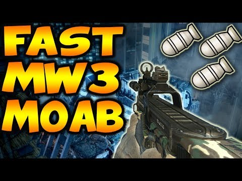 MOAB - Call of Duty Modern Warfare 3 Moab - Can we get 2000 Likes? Comment below and like the video if you want to see more MW3 / Modern Warfare 3 Gameplays or Moab...