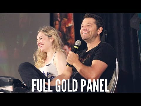 Supernatural Indy Gold Panel With Misha Collins and Rachel Miner | Giving Back Tour