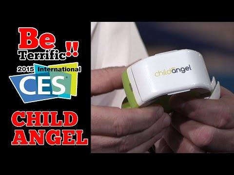 CES 2015: Child Angel Wearable GPS Locator