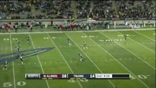 Eric Page vs N. Illinois 2011
