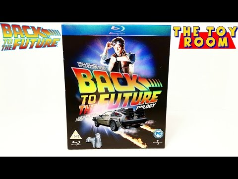 Back To The Future Trilogy Blu Ray Unboxing & Review (Back To The Future Day)
