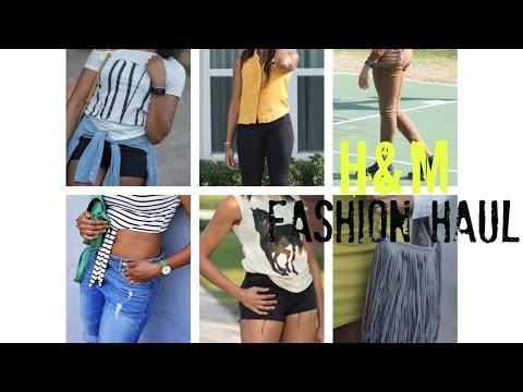 HAUL: H&M Fashion (Boyfriend Shorts, Shorts, Treggings, and More!)