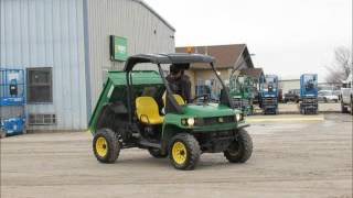 8. For Sale 2008 John Deere 850D Gator 4x4 Diesel ATV UTV Utility Dump bidadoo.com
