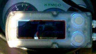 8. Kymco Cobra 49cc 0-30MPH test.