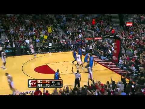 Oklahoma City Thunder 111 – Portland Trail Blazers 107