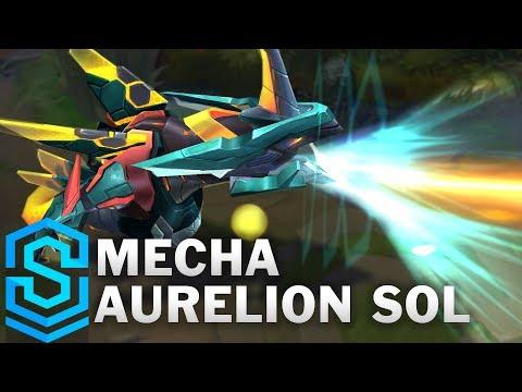 Aurelion Sol Máy Móc - Mecha Aurelion Sol Skin