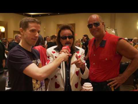 WrestleCon 2017 - Solomonster Interviews Jimmy Hart and The Mountie! (видео)