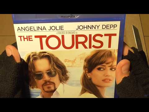 The Tourist Blu ray unboxing ASMR