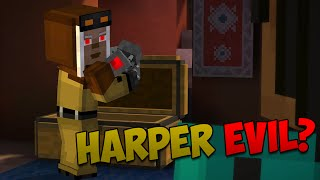 So I've been watching back a lot of my minecraft story mode episode 7 ending and it got me thinking.. Could Harper be EVIL in Episode 8 of Minecraft Story Mode?!?Follow me on Twitter: https://twitter.com/puredominaceGet an awesome T-shirt!: http://puredominace.spreadshirt.com/Like me on Facebook: http://www.facebook.com/Puredominace--All Music by Kevin Macleod @ http://incompetech.com unless otherwise noted.Intro music: OVERWERK - Matter (Used With Permission)facebook.com/overwerksoundcloud.com/overwerkyoutube.com/overwerkofficial