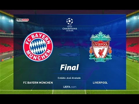 PES 2019 | Bayern Munchen Vs Liverpool | FINAL UEFA Champions League | Gameplay PC
