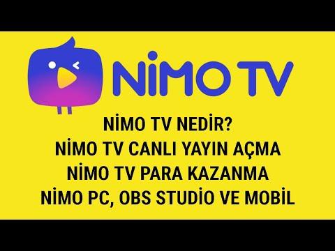 NİMO TV NEDİR? NİMO TV CANLI YAYIN AÇMA / NİMO TV PARA KAZANMA - Nimo TV PC, OBS Studio ve Mobil