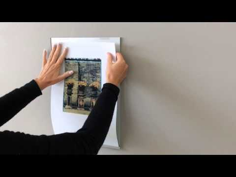 The Poster Holder Series - How to Operate