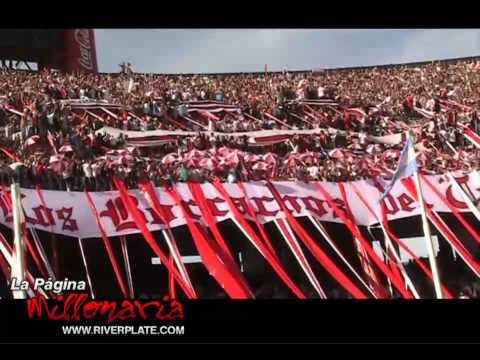 Video - Yo te aliento de la cuna hasta el cajón... Superclásico 2009 - Los Borrachos del Tablón - River Plate - Argentina
