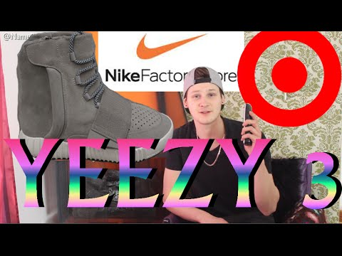 BUYING YEEZY 3s at TARGET and NIKE STORE!!!! -prank calls with NameBran
