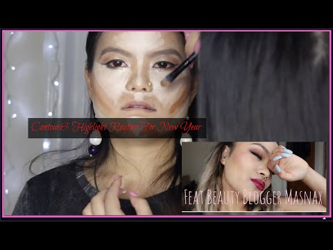 Contour& Highlight Routine For New Year || Day|Night||