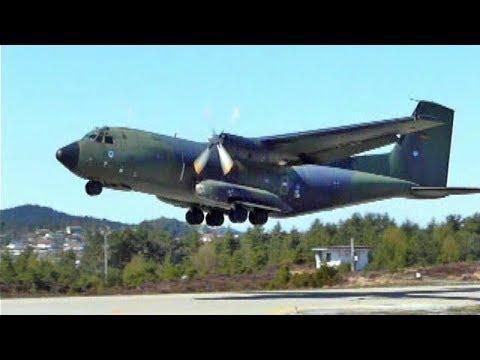 A German Air Force C-160 Transall...