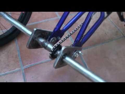Как самому сделать самому трехколесный велосипед