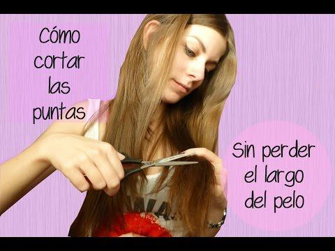 Cómo cortar las puntas sin perder el largo de nuestro pelo