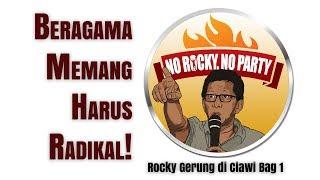 Video Beragama Memang Harus Radikal! - Rocky Gerung di Ciawi Bag 1 MP3, 3GP, MP4, WEBM, AVI, FLV Februari 2019
