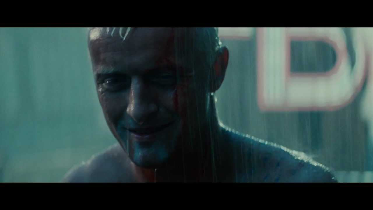 "Blade Runner - Final scene, ""Tears in Rain"" Monologue (HD)"