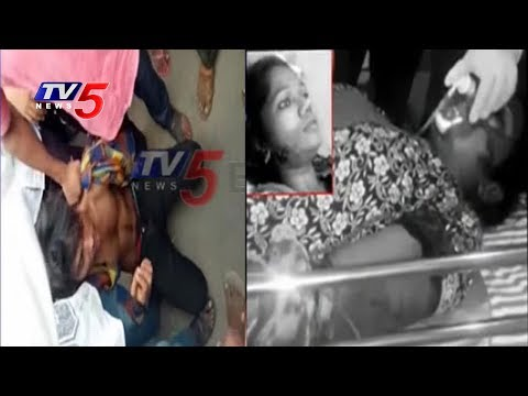 Man Attack On Married Woman With Knife At Erragadda Rythu Bazar