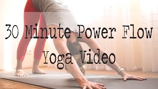 Video 30 minute power yoga flow MP3, 3GP, MP4, WEBM, AVI, FLV Maret 2018