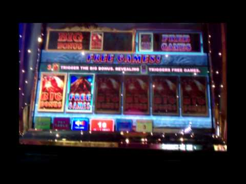 Raging Eruption Slot Machine - Aruze Gaming