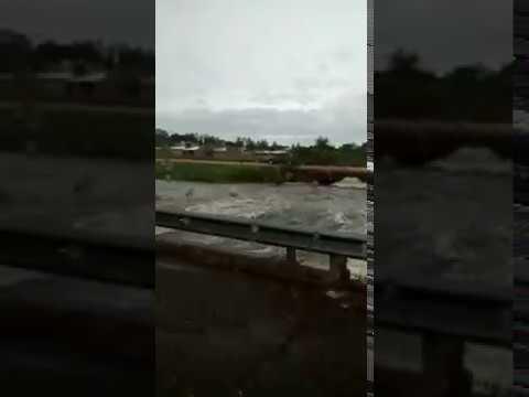 Nuevo video muestra cómo se inundó la Ruta 14