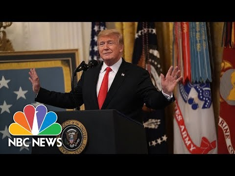 President Donald Trump Hosts White House Hispanic Heritage Month Celebration | NBC News