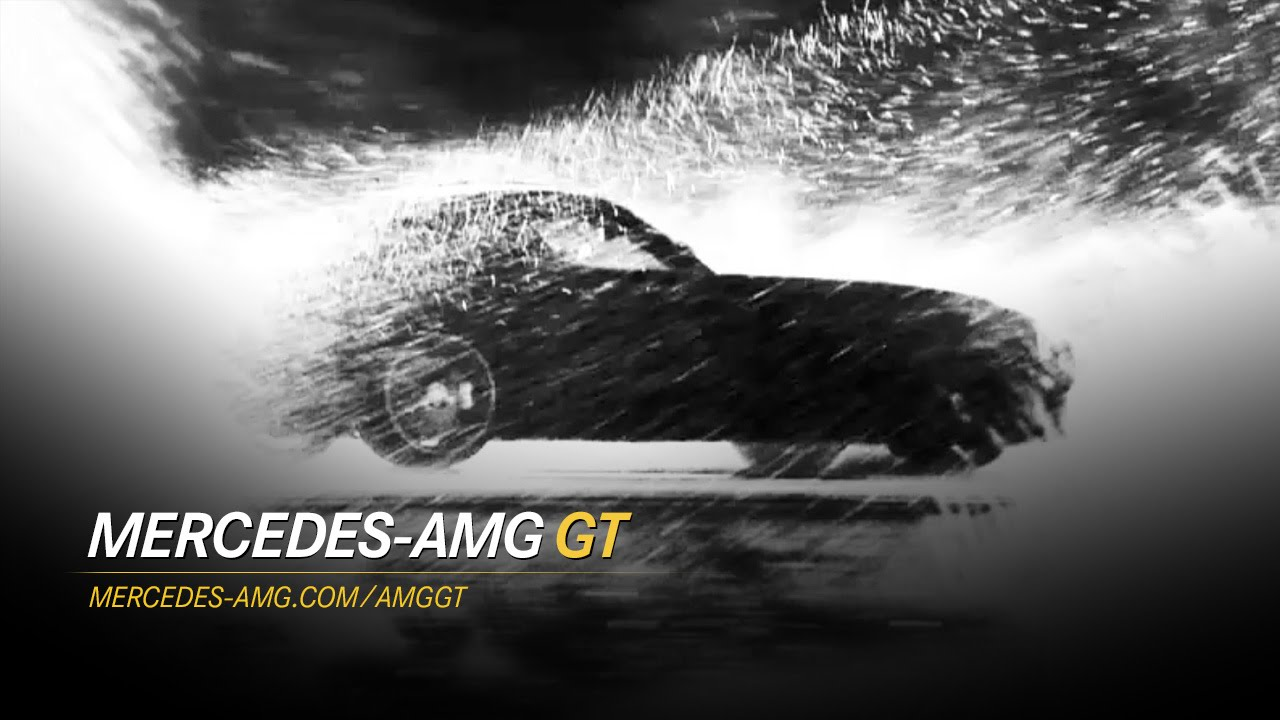2015 Mercedes-AMG GT: тизер