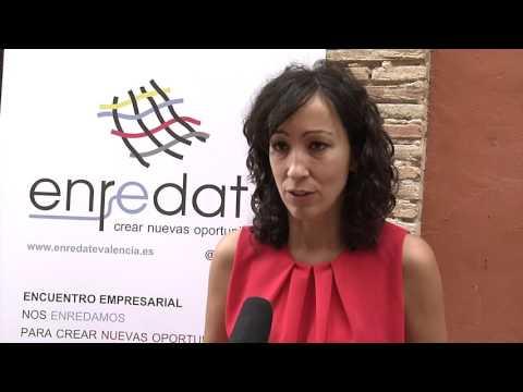 Entrevista a Alicia Benet de Cámara de Comercio de Valencia en Enrédate Alzira