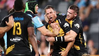 Waratahs v Western Force Rd.3 2021 Super rugby AU video highlights | Super Rugby Video