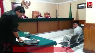Diduga Serobot Lahan Masyarakat, Jaksa Tuntut Juragan 2,6 Tahun
