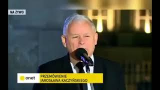"""""""Będziemy wyspą wolności i tolerancji"""" w Europie, stwierdził Kaczyński."""