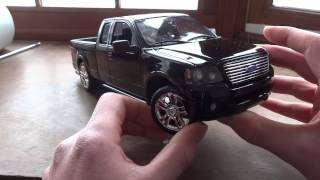 Review of 1/18 Ford F-150 Harley Davidson Edition by Maisto