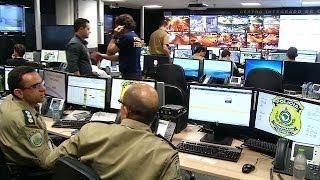 VÍDEO: Chegada da delegação do Chile é acompanhada no Centro Integrado de Comando e Controle