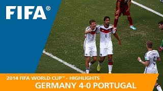 Video GERMANY v PORTUGAL (4:0) - 2014 FIFA World Cup™ MP3, 3GP, MP4, WEBM, AVI, FLV September 2018