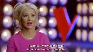 Christina Aguilera & Pharrell - El inicio de una Hermosa Amistad - The Voice 8 (Subtítulos español)